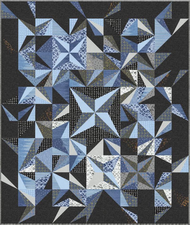 Exploding Stars Free Pattern-