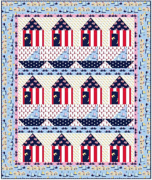 dear stella website- free quilt pattern