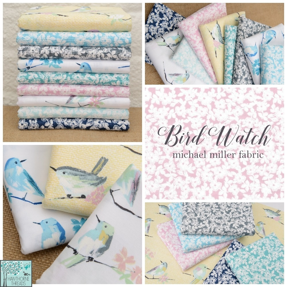 Bird Watch Fabric Poster 2