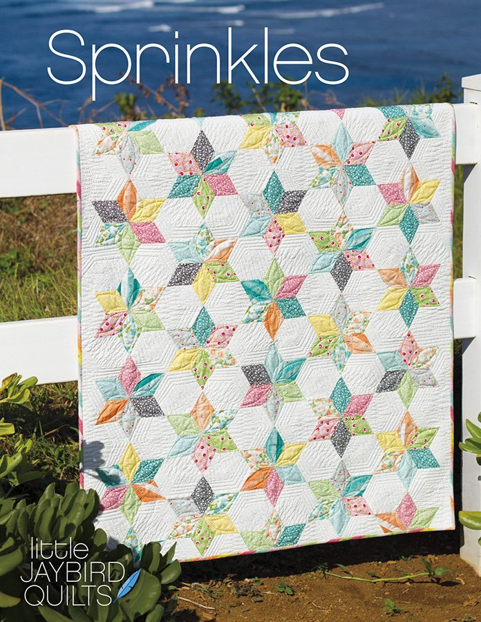jaybird quilts  sprinkles baby quilt sewing pattern