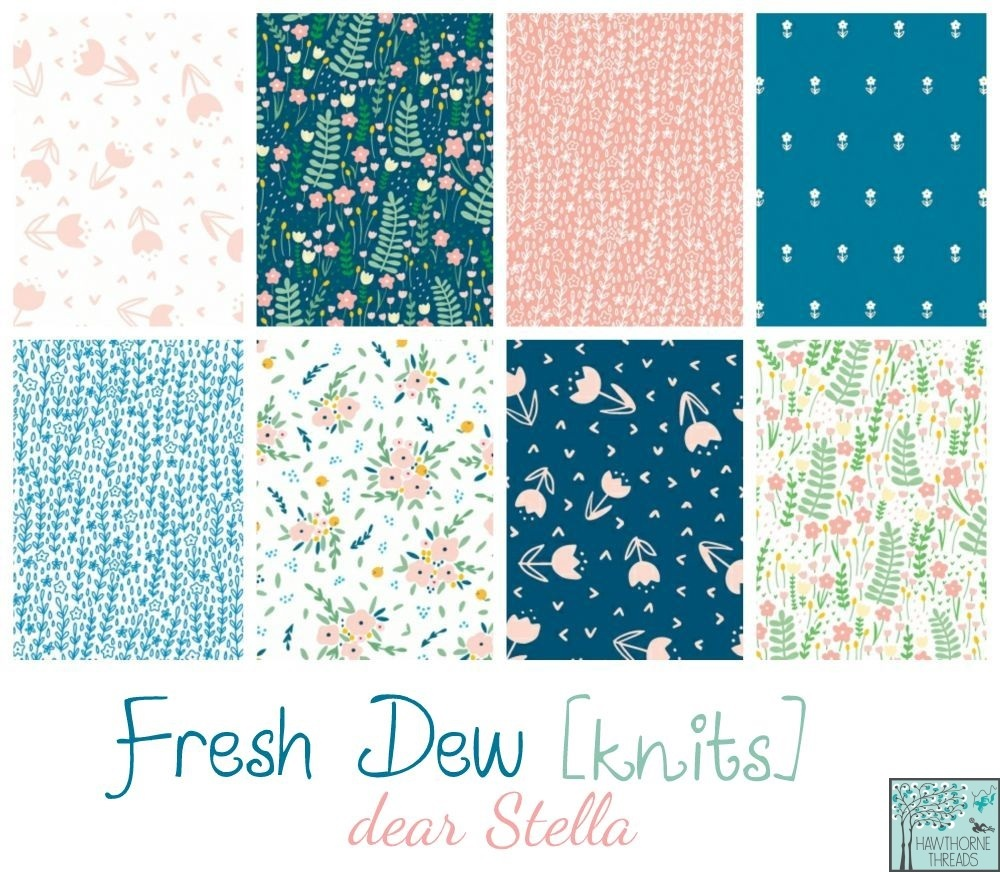 Fresh Dew Knit Fabric poster