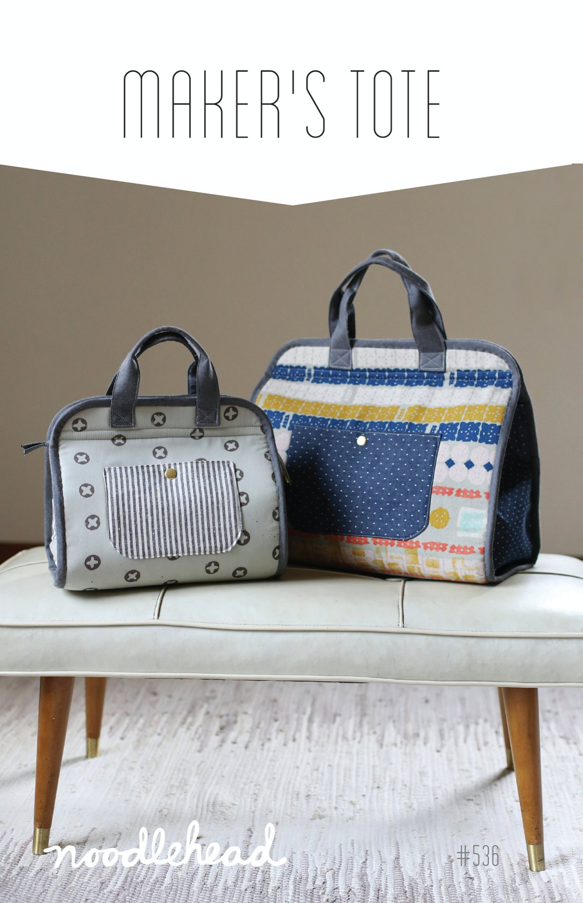noodlehead makers tote sewing pattern