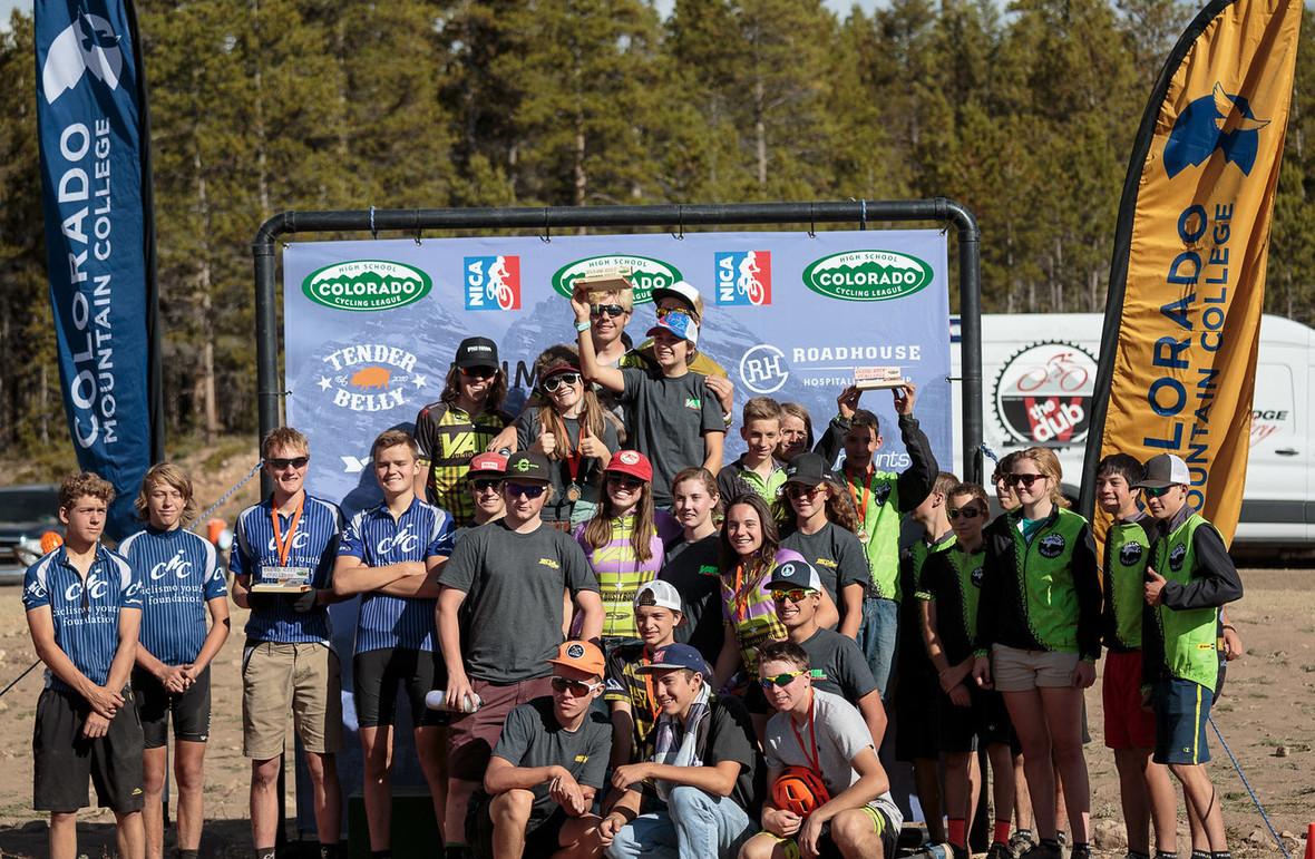 2016 D2 Team Podium Leadville