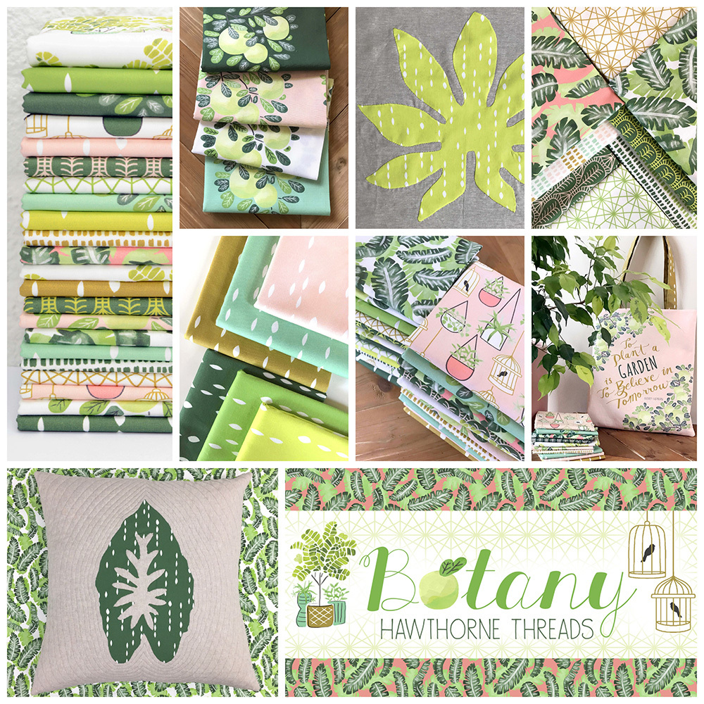 Botany Fabric Poster 1000