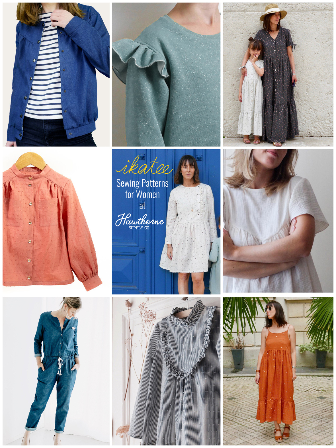 Ikatee Womens collage