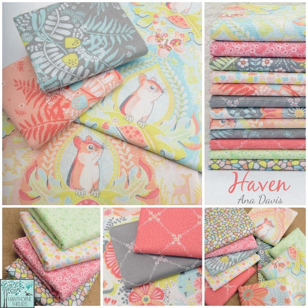 Haven Fabric Poster