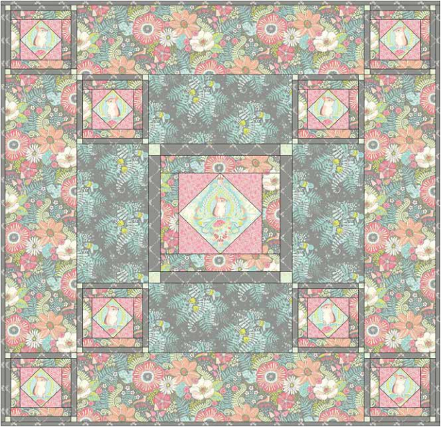 Blend Project Hidden Quilt