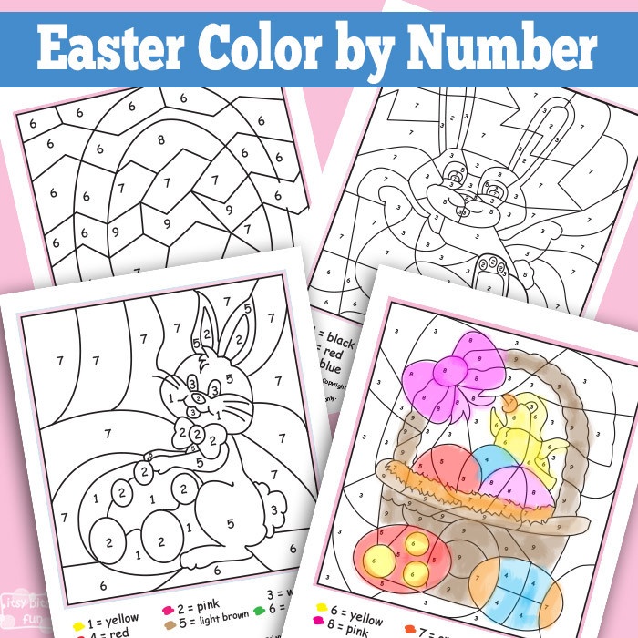 easter color by number life cycle of a frog spring fun. Black Bedroom Furniture Sets. Home Design Ideas