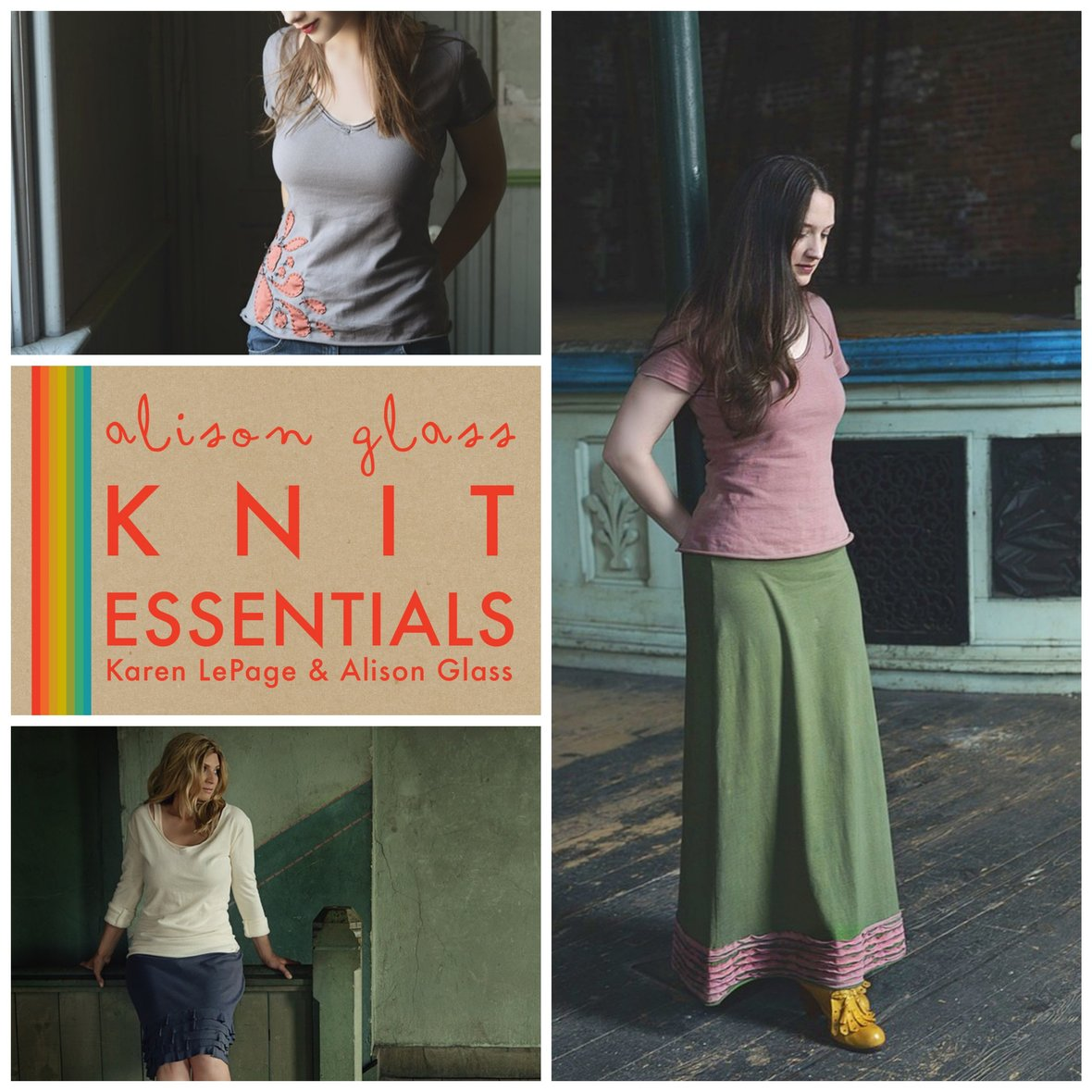 alison glass knit essentials sewing pattern