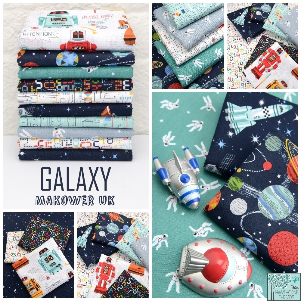 Galaxy Fabric Poster