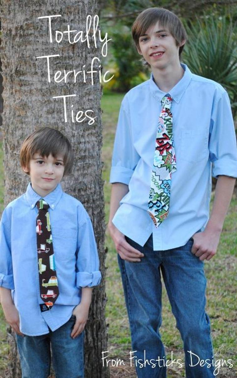 craftsy-totally terrific ties-free PDF pattern