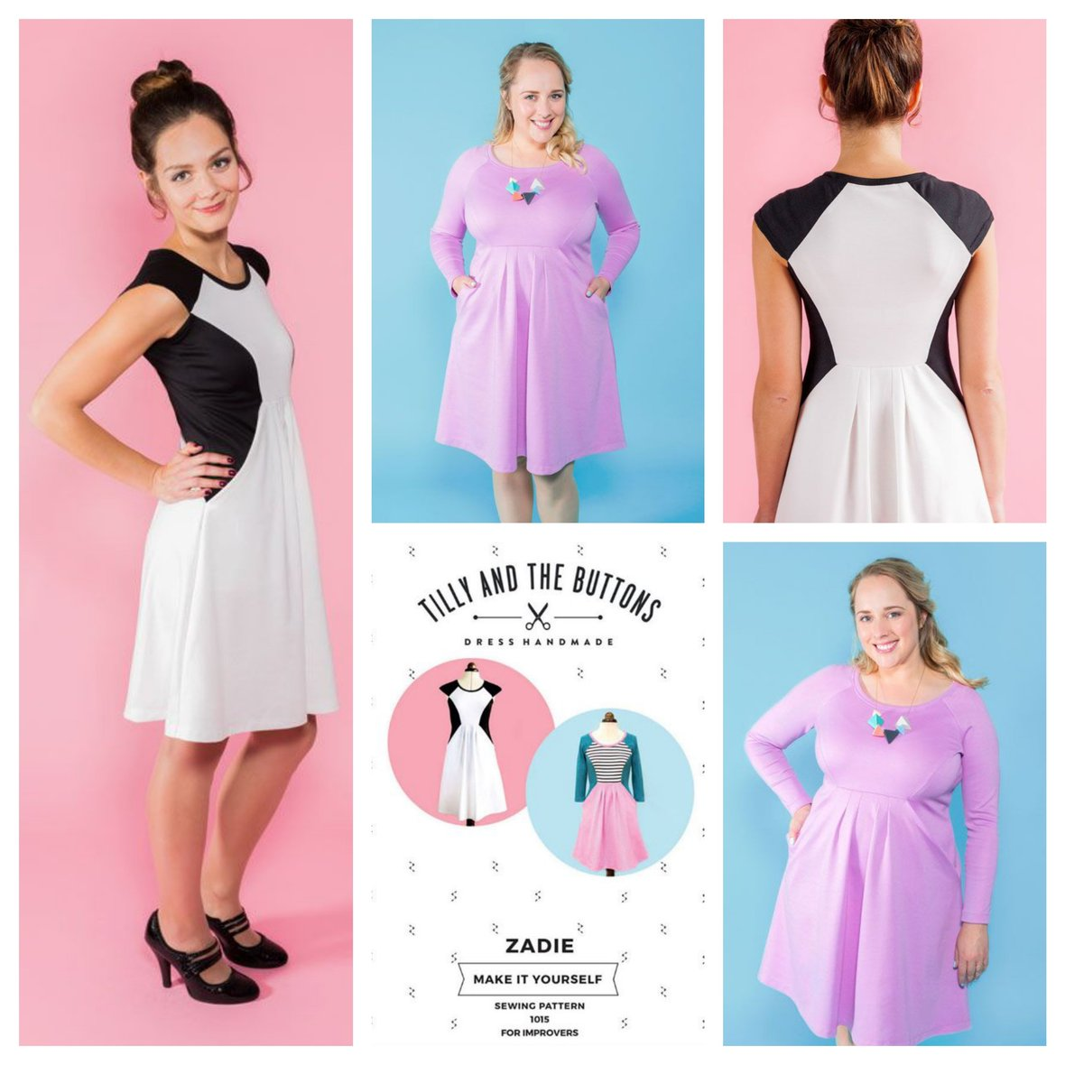 tilly and the buttons  zadie sewing pattern