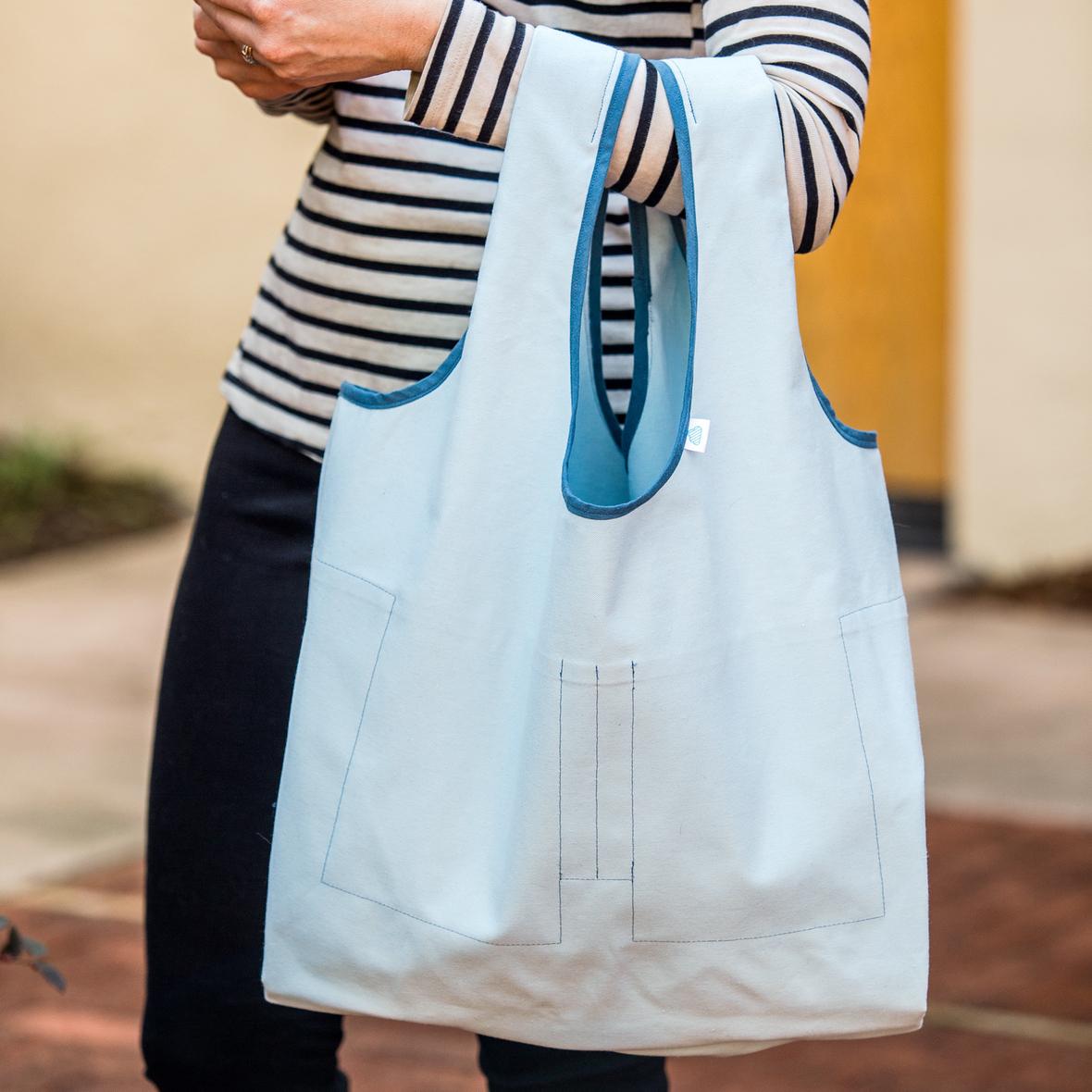 Stowe Bag Blue