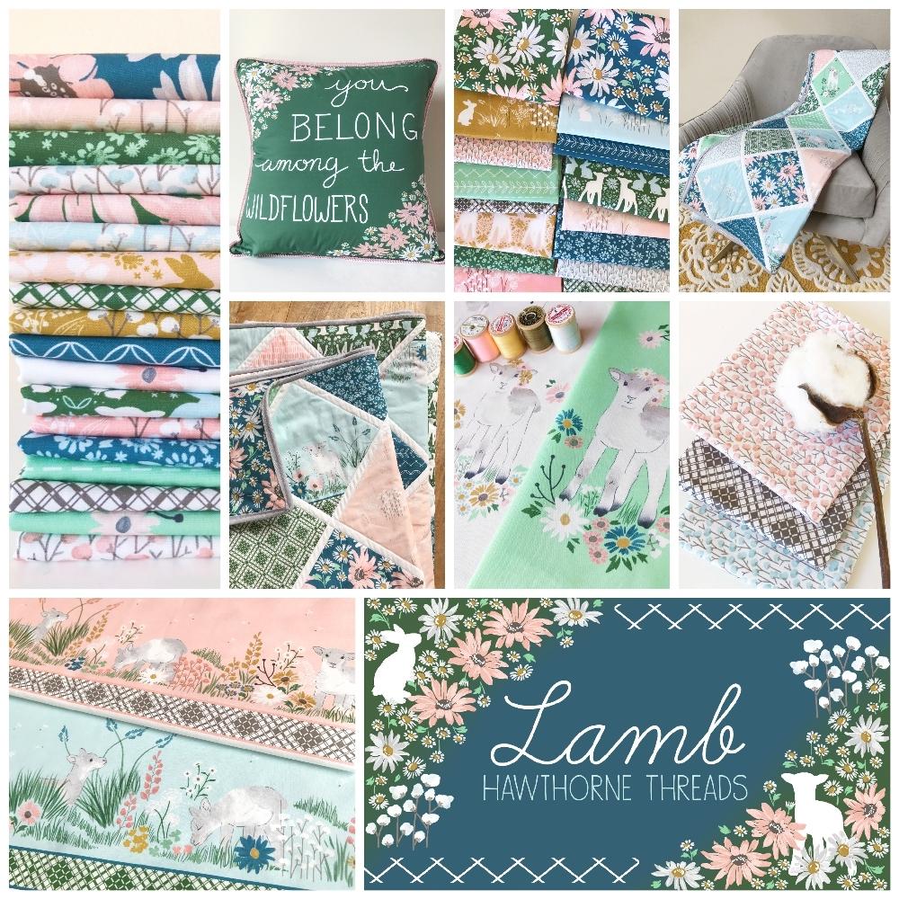 Lamb Fabric Poster 1000