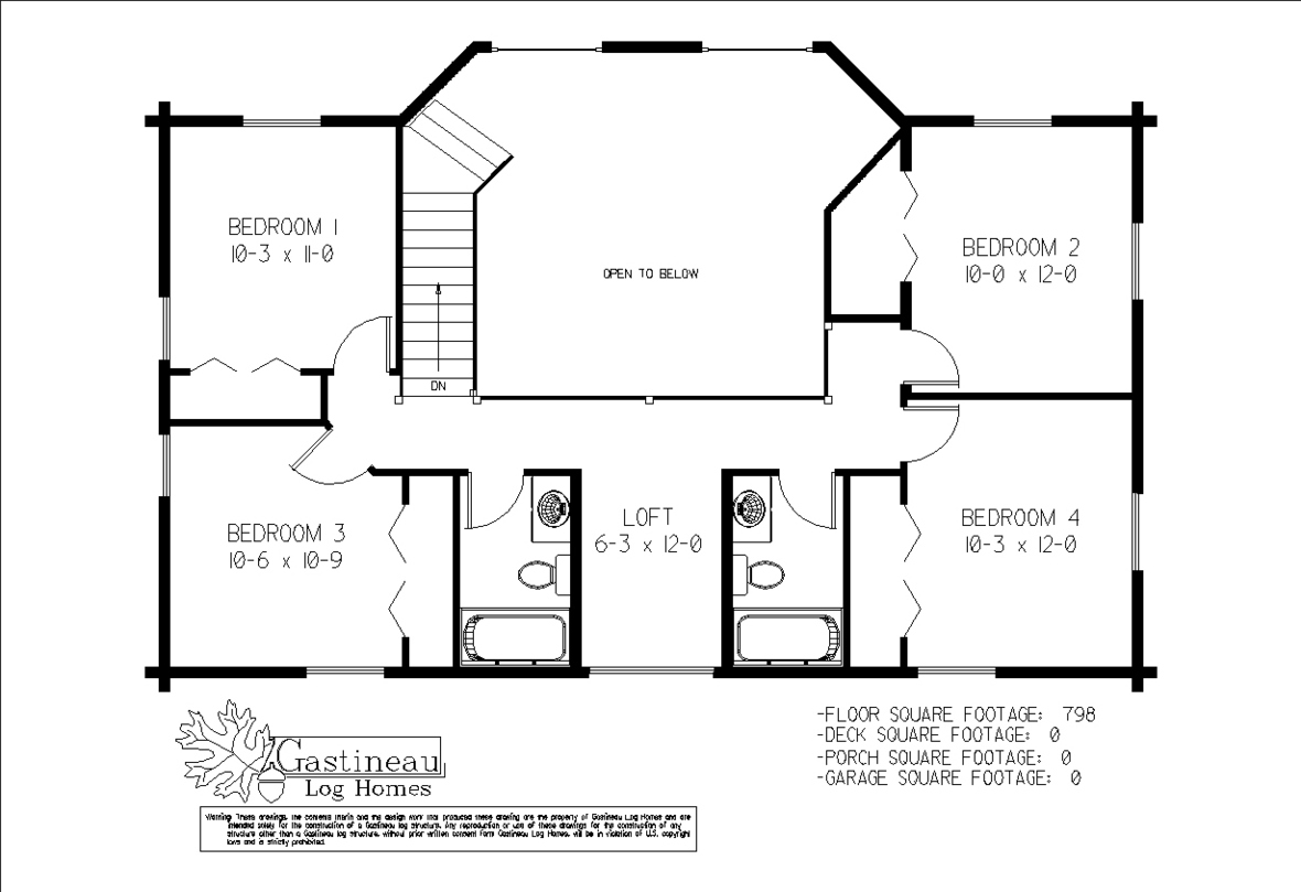 ashton second floor plan