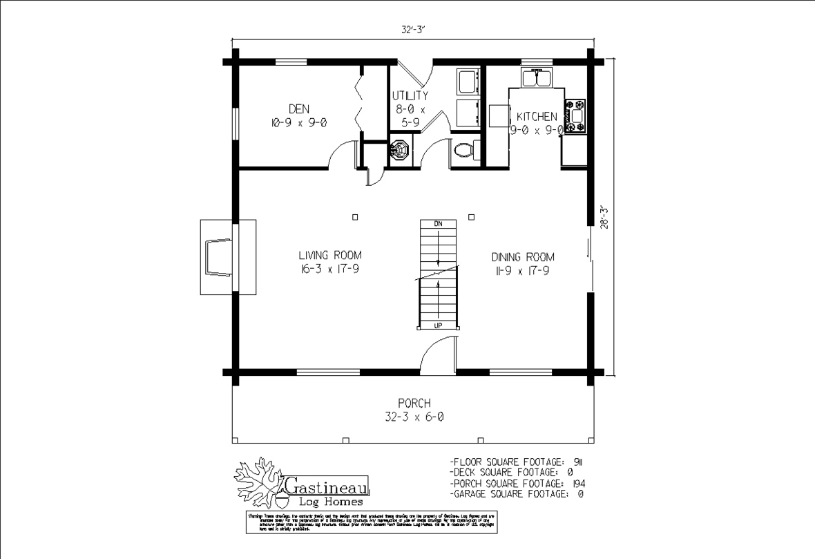 homesteader first floor plan
