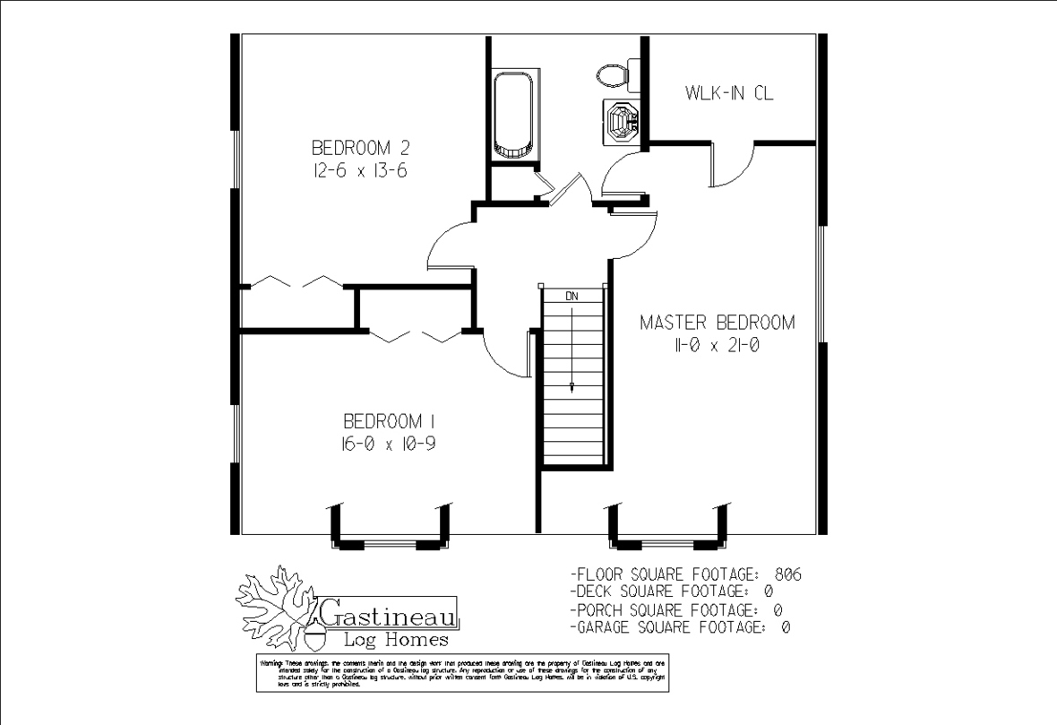 homesteader second floor plan