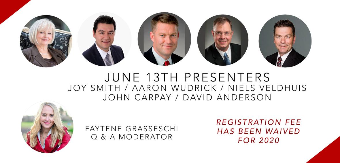 June 13th Canada Summit Presenters