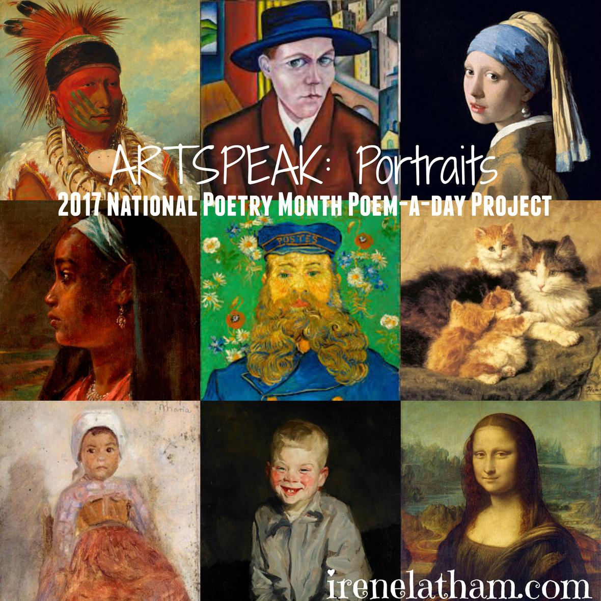 Artspeak Portraits Poetry 2017 Irene Latham