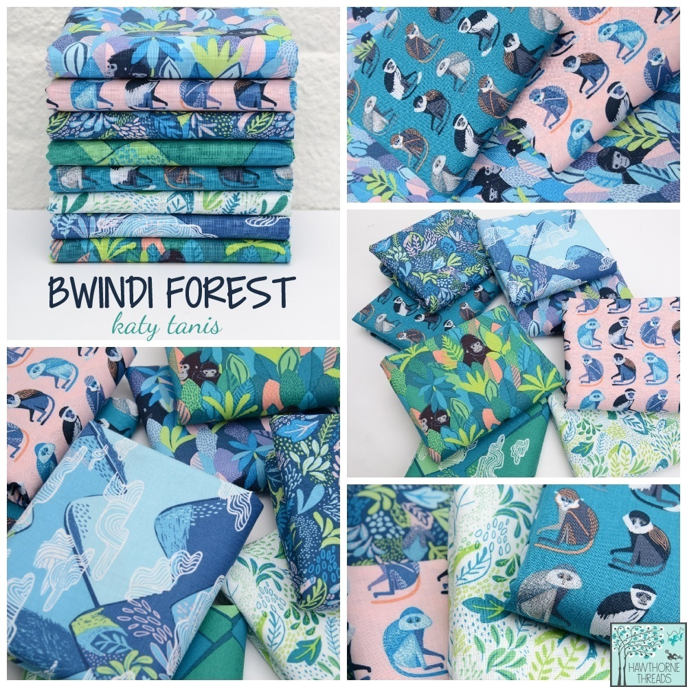 Bwindi Forest Fabric Poster