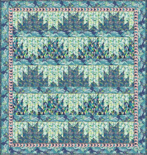 Blend Projects Bwindi Mountains Quilt