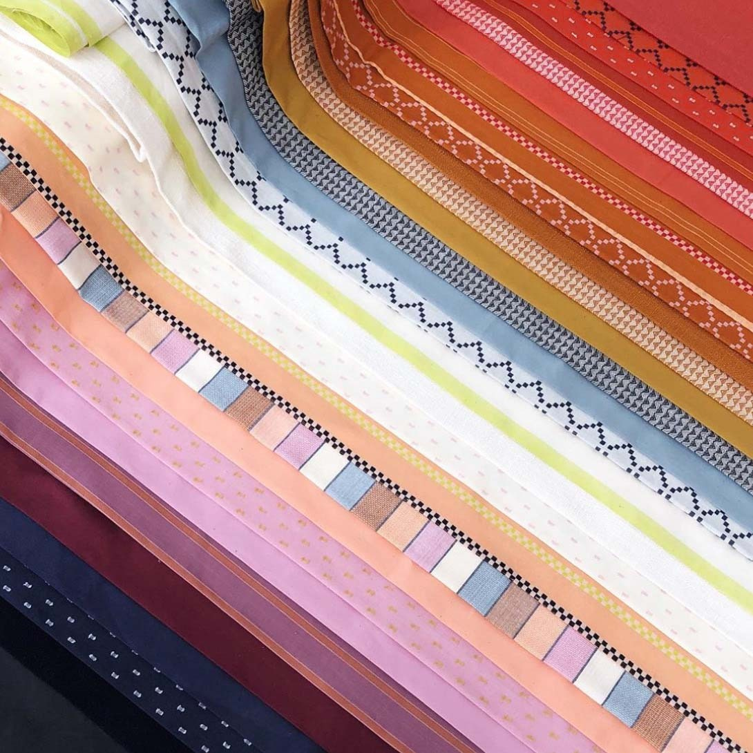 warp and weft woven fabric