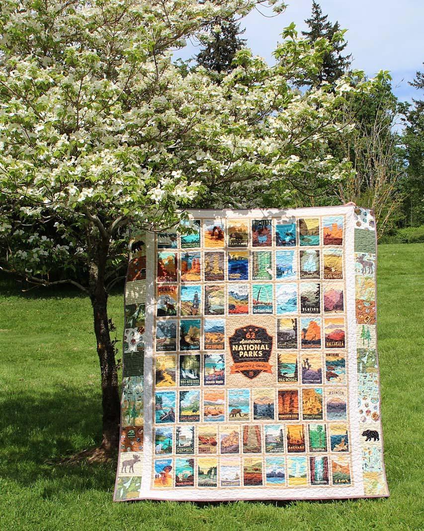 Wilderness Wonders Quilt Panel Quilt