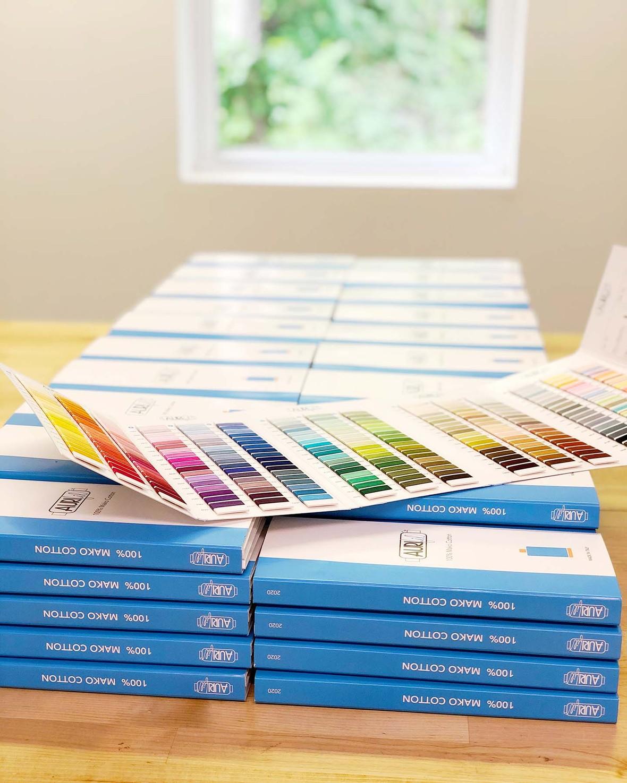 Aurifil color cards