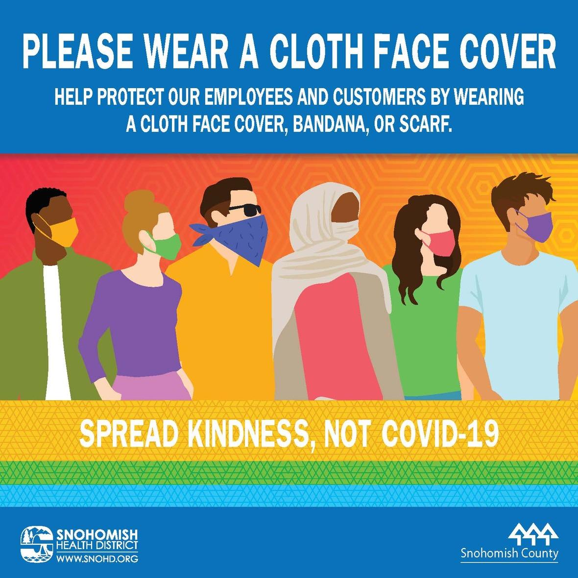 Please Wear a Cloth Face Cover