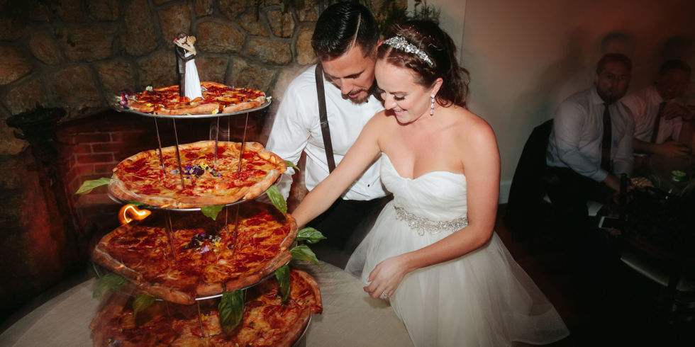 wedding pizza