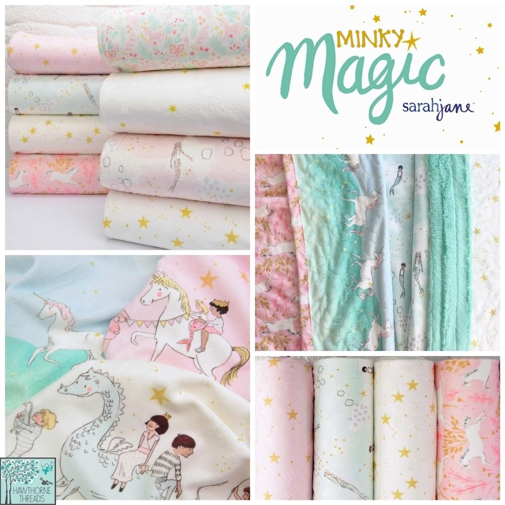 Magic Minky Fabric Poster