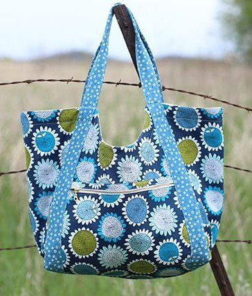 noodlehead poolside tote sewing pattern
