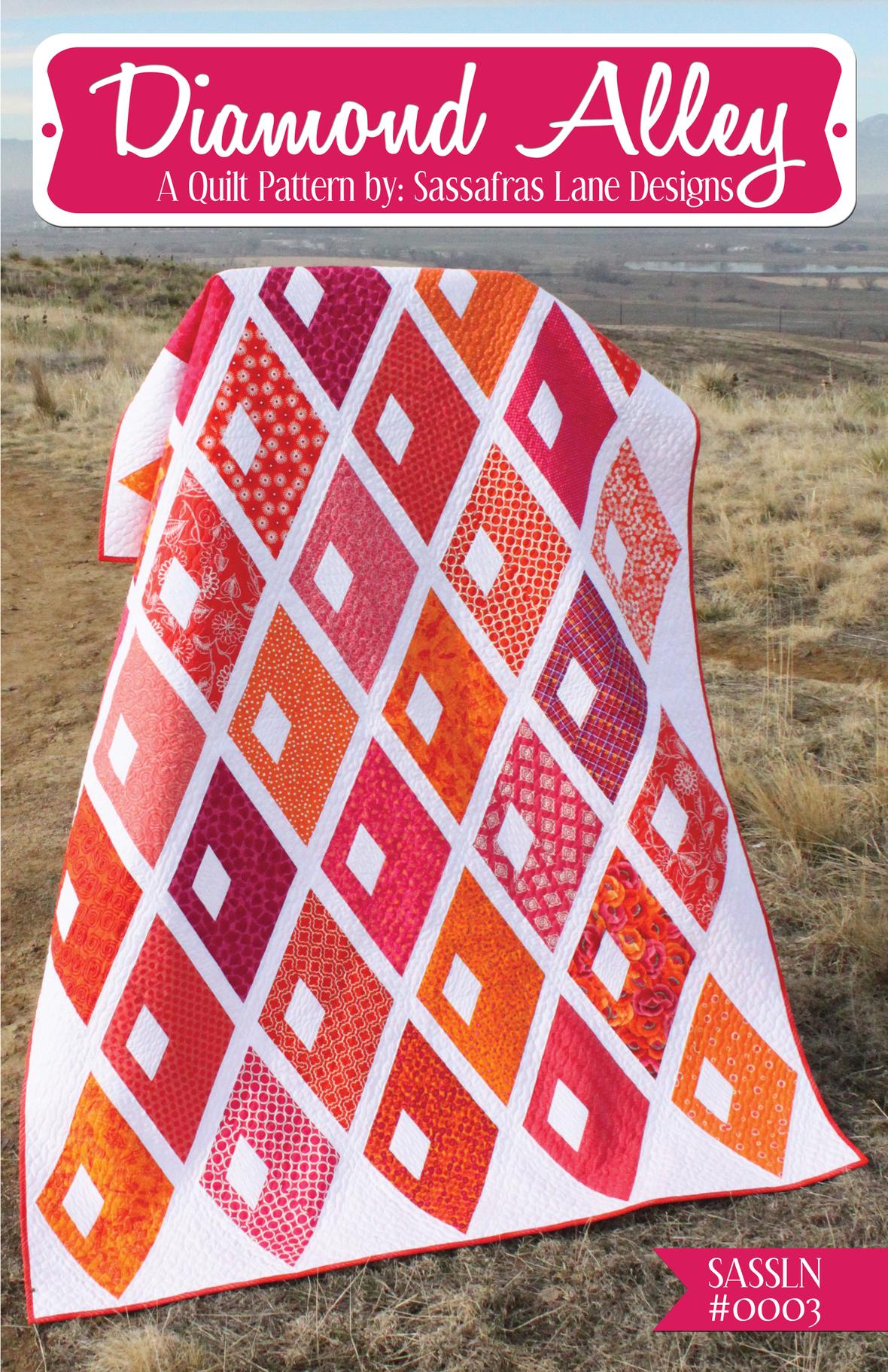 sassafras lane designs diamond alley sewing pattern