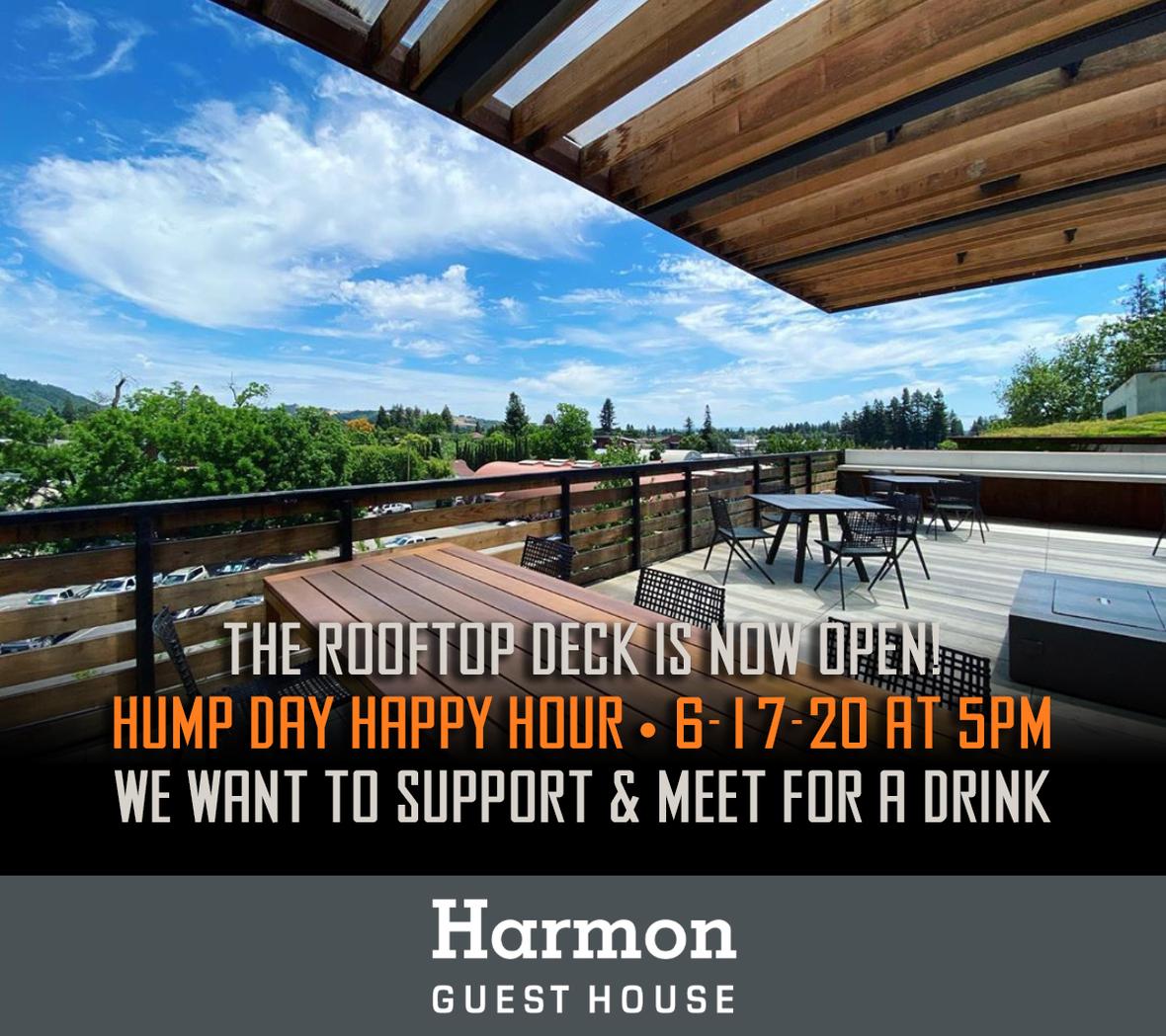 harmon roof open