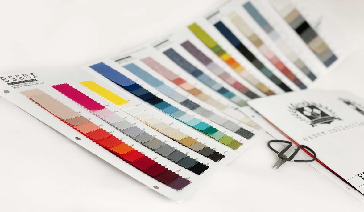 Essex Yarn Dye Card