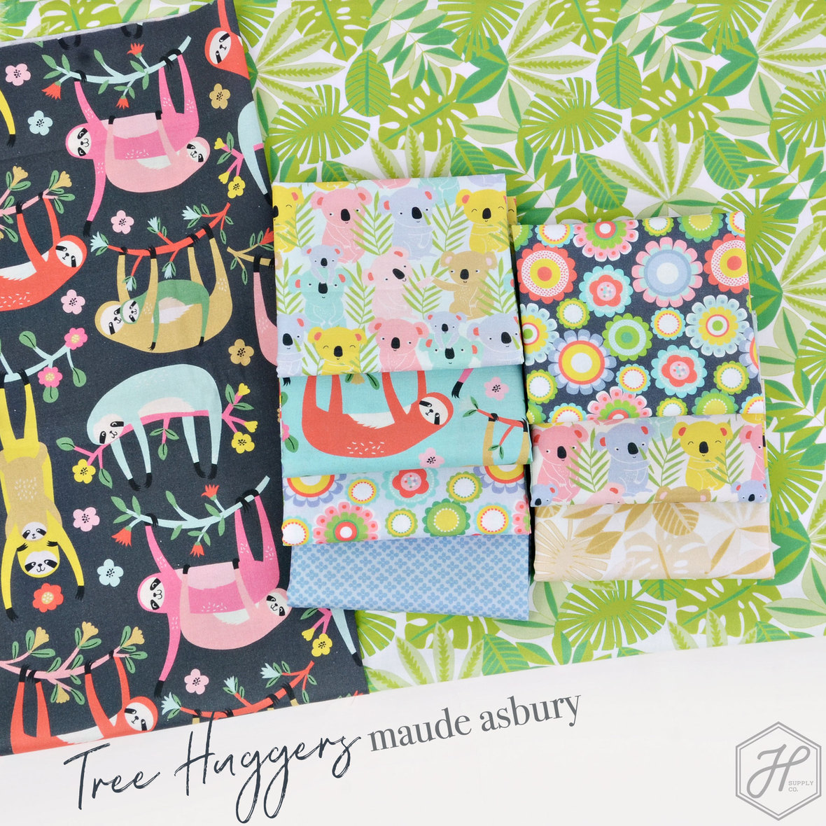 Tree-Huggers-Fabric-poster-Maude-Asbury-for-Blend-at-Hawthorne