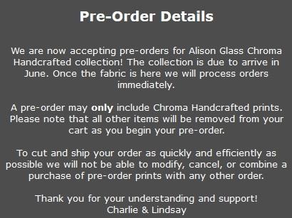 Chroma Fabric pre-sale