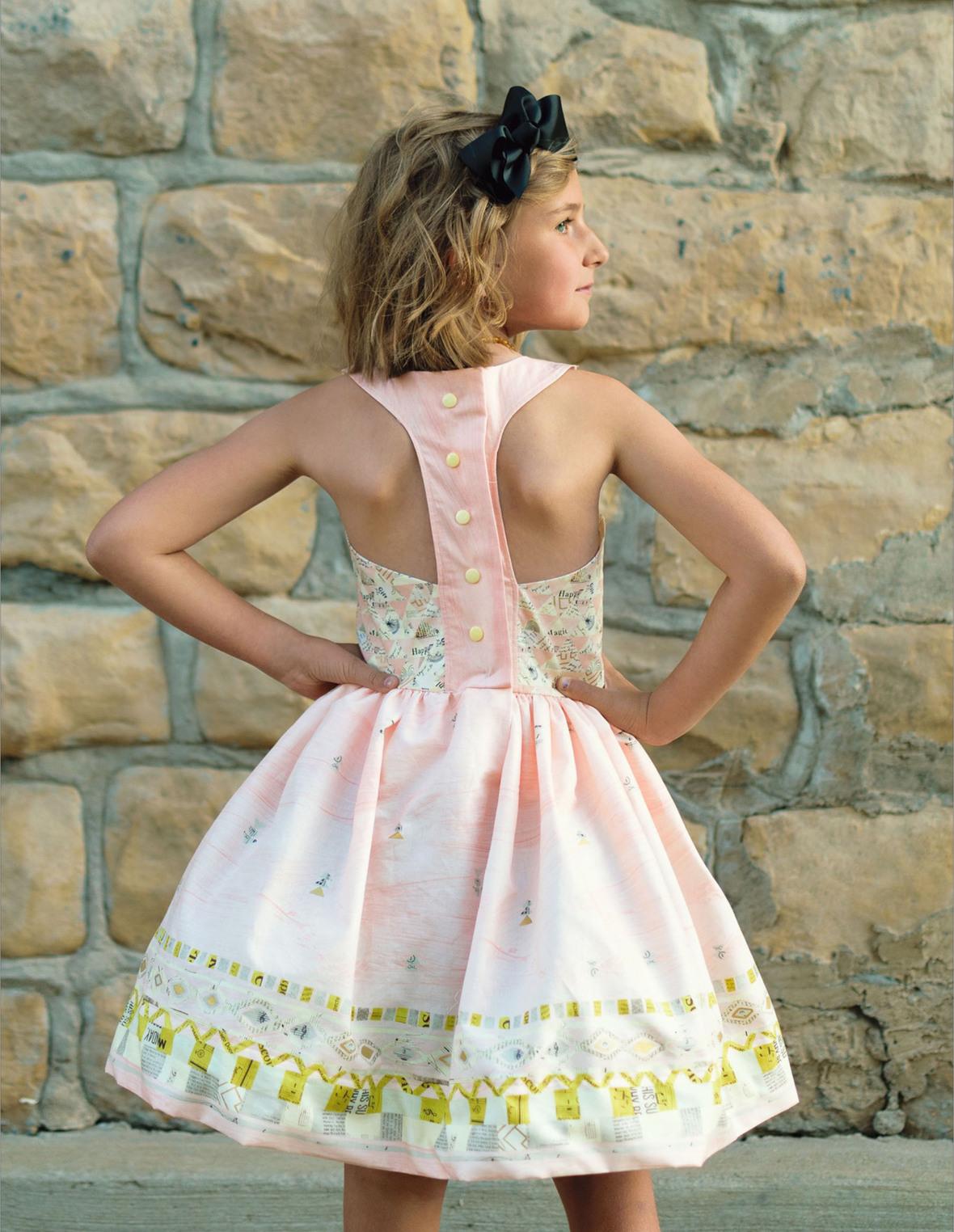 Aardbei Dress pattern from The Eli Monster