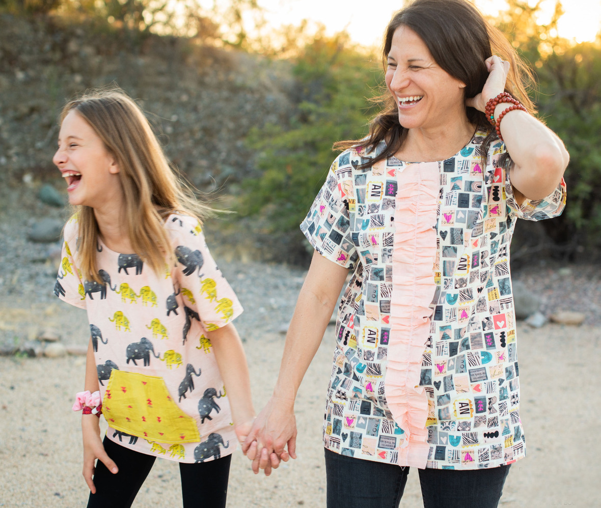 turnstyle top by amie plumley from sewing school fashion design