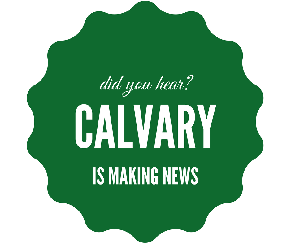 Calvary in the news