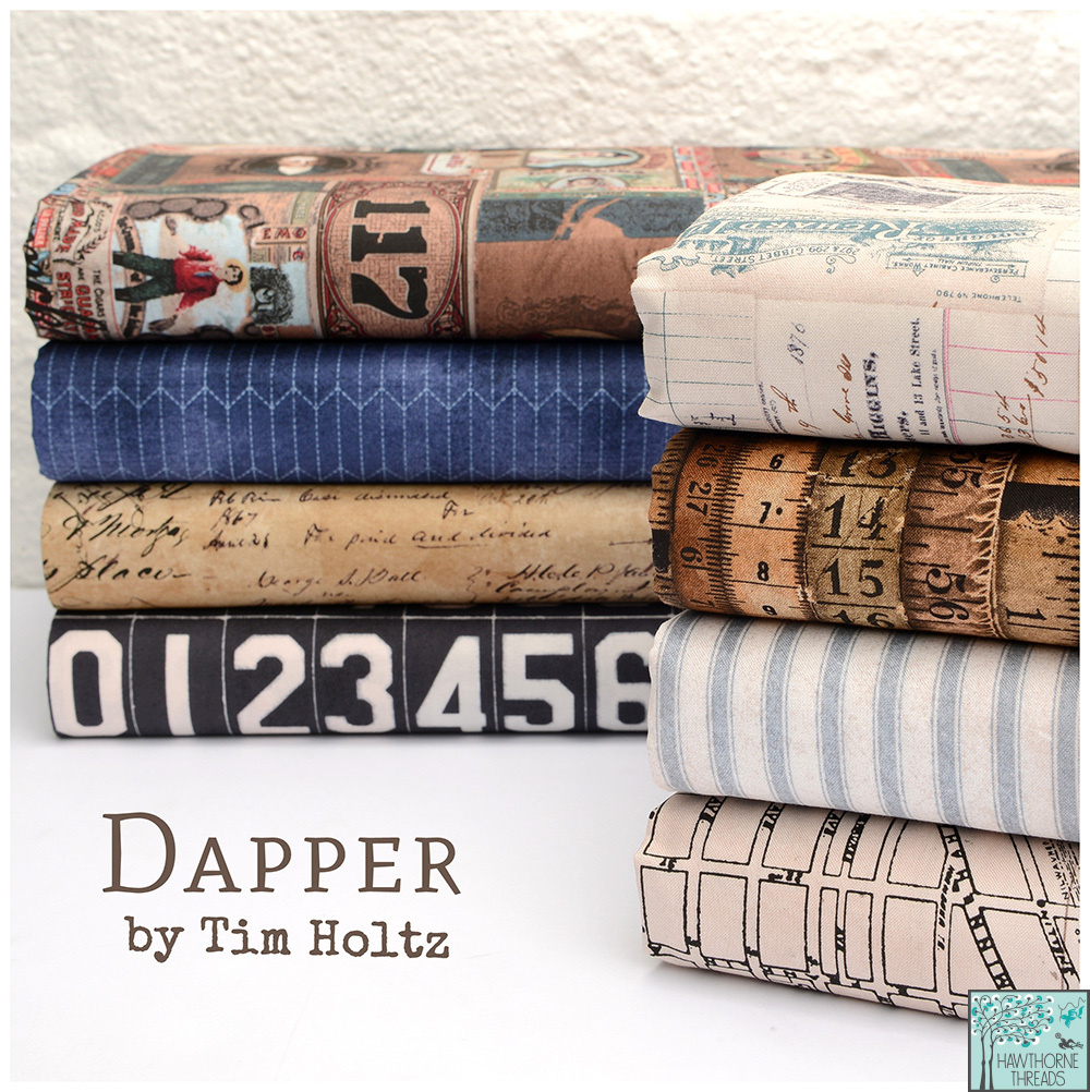 Dapper Fabric Poster