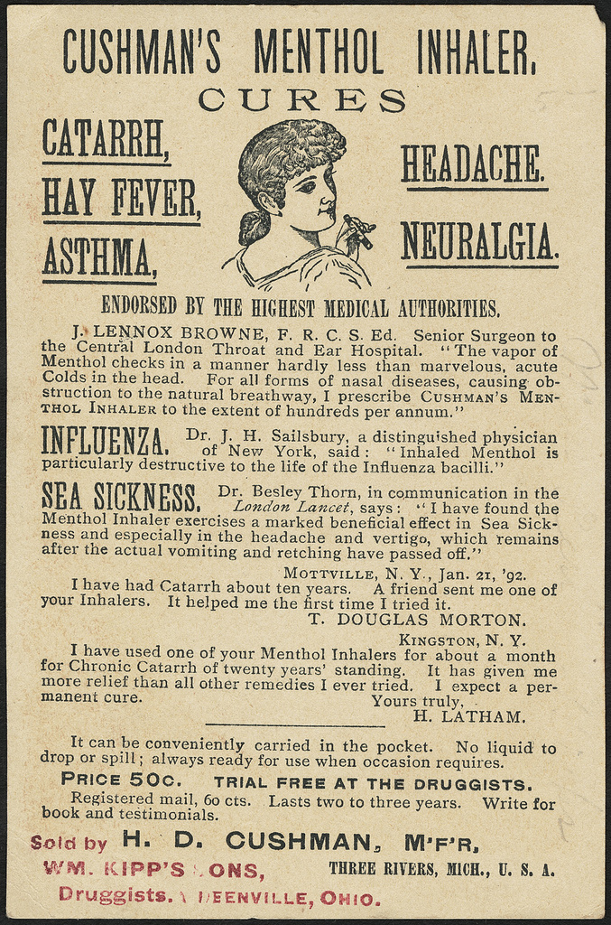 Menthol Inhaler
