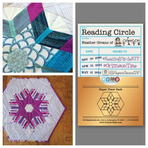 heather givans reading circle epp sewing pattern