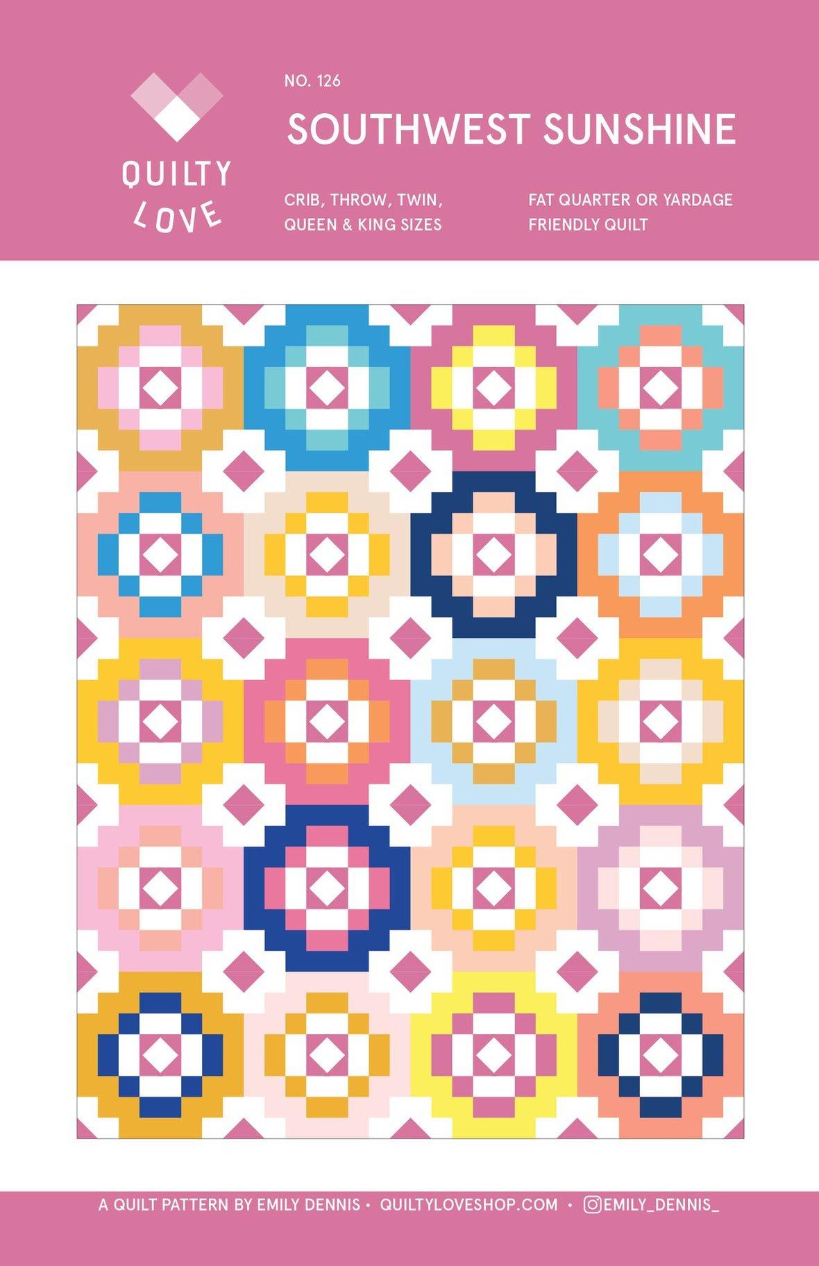 Southwest Sunshine PAPER Quilt Pattern 1024x1024 2x