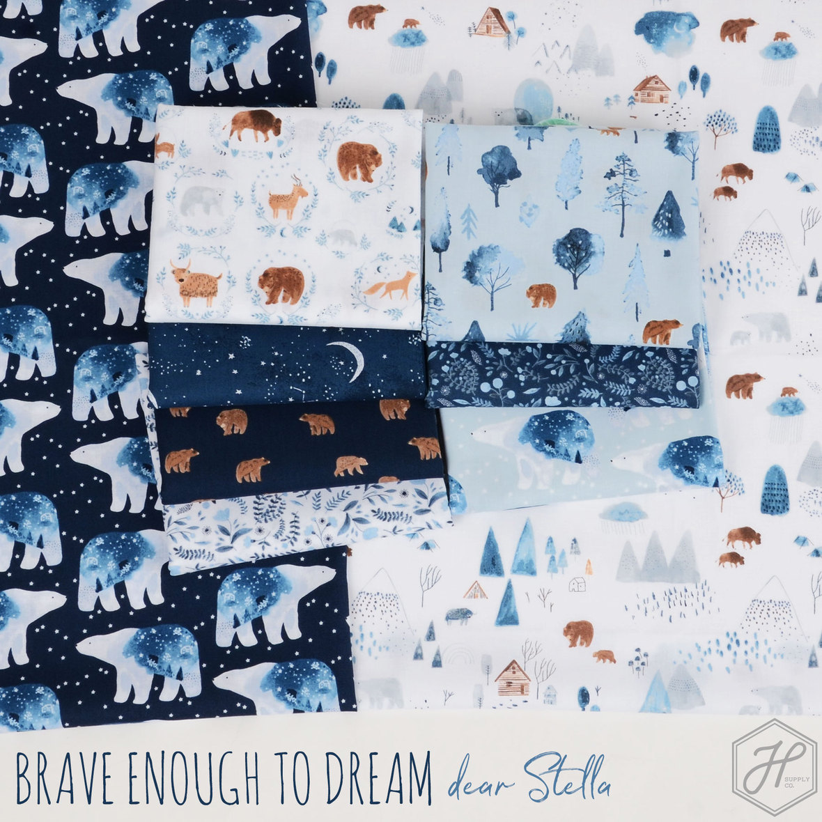 Brave-Enough-to-Dream-fabric-poster-Dear-Stella-at-Hawthorne-Supply-Co