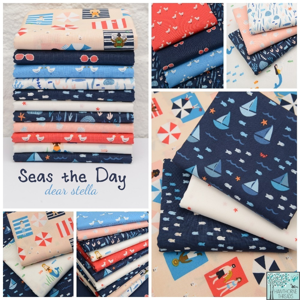 Seas the Day Fabric Poster