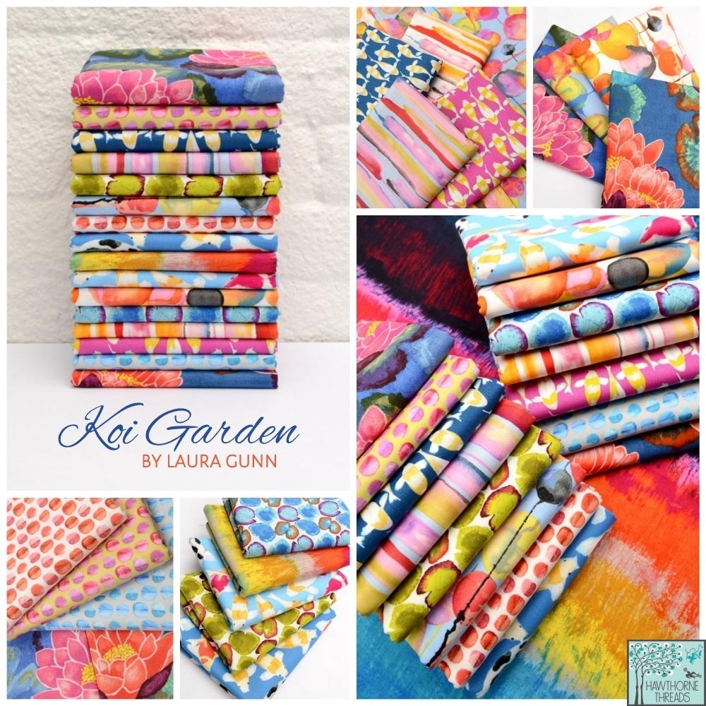 Koi Garden Fabric Poster
