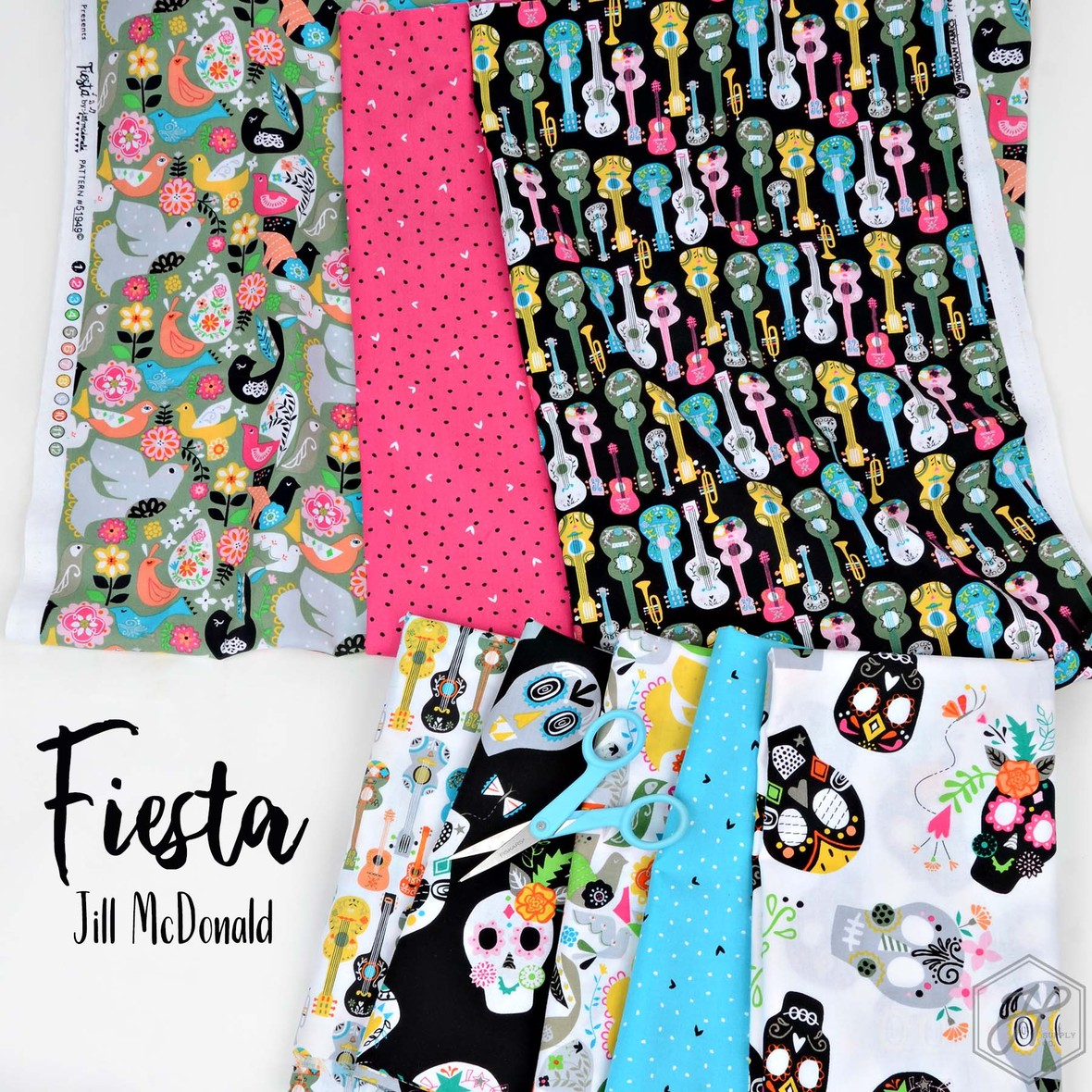 Fiesta Fabric Jill McDonald for Windham at Hawthorne Supply Co