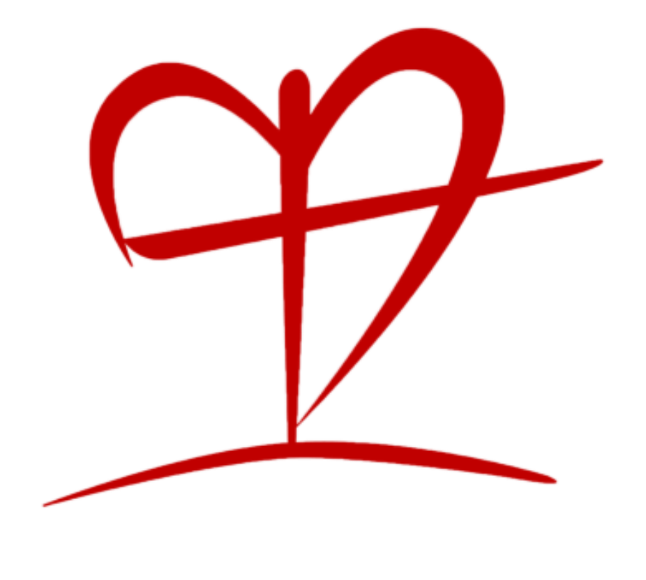 cross-heart-clipart-light red