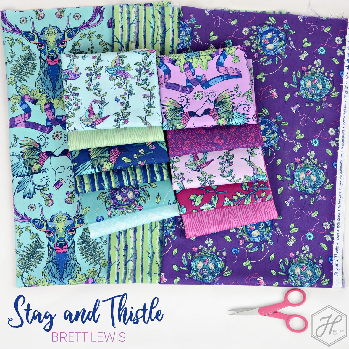 Stag-and-Thistle-Fabric-Brett-Lewis-Natural-Born-Quilter-at-Hawthorne-Supply-Co